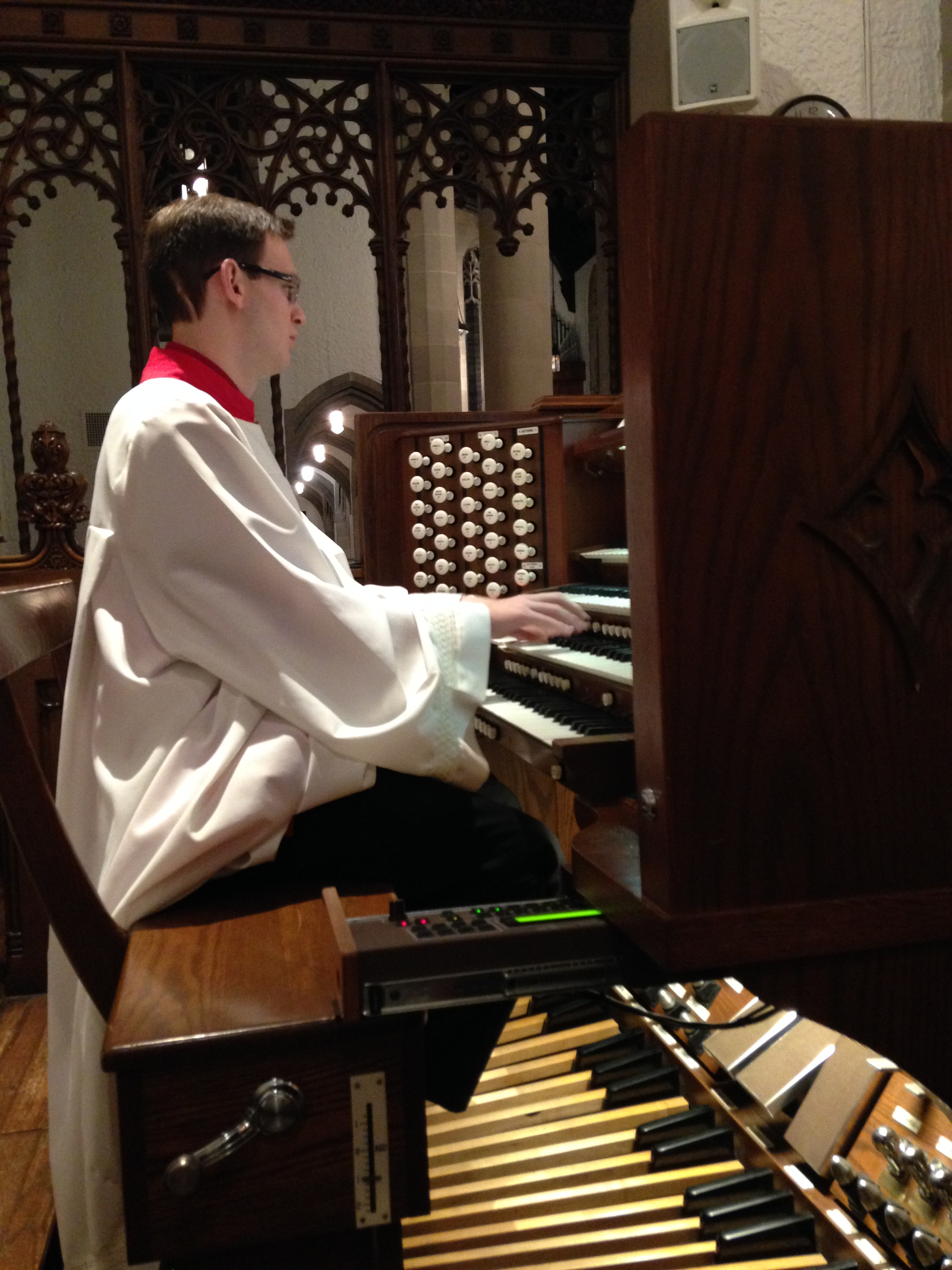 Chad at Organ